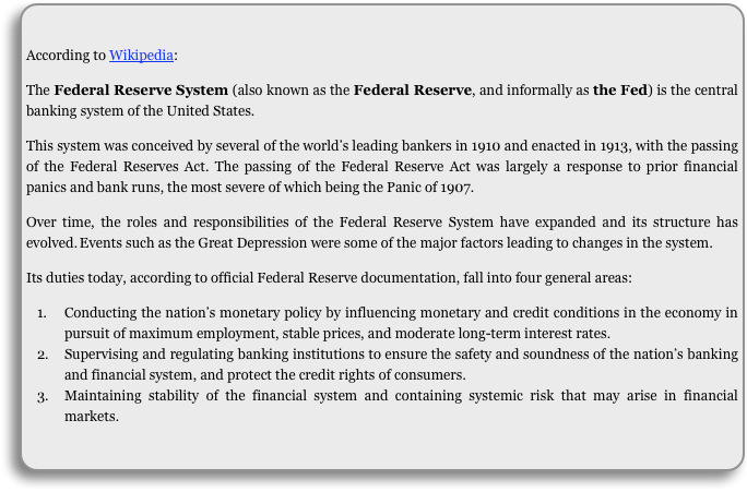 federal reserves home loan